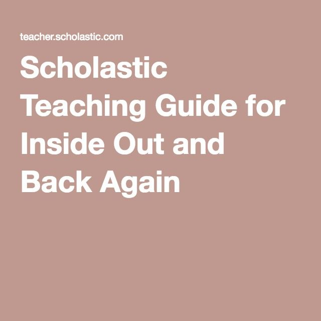 Scholastic teaching guide for inside out and back again english scholastic book clubs is the best possible partner to help you get excellent books into the hands of every child to help them become successful lifelong fandeluxe Choice Image