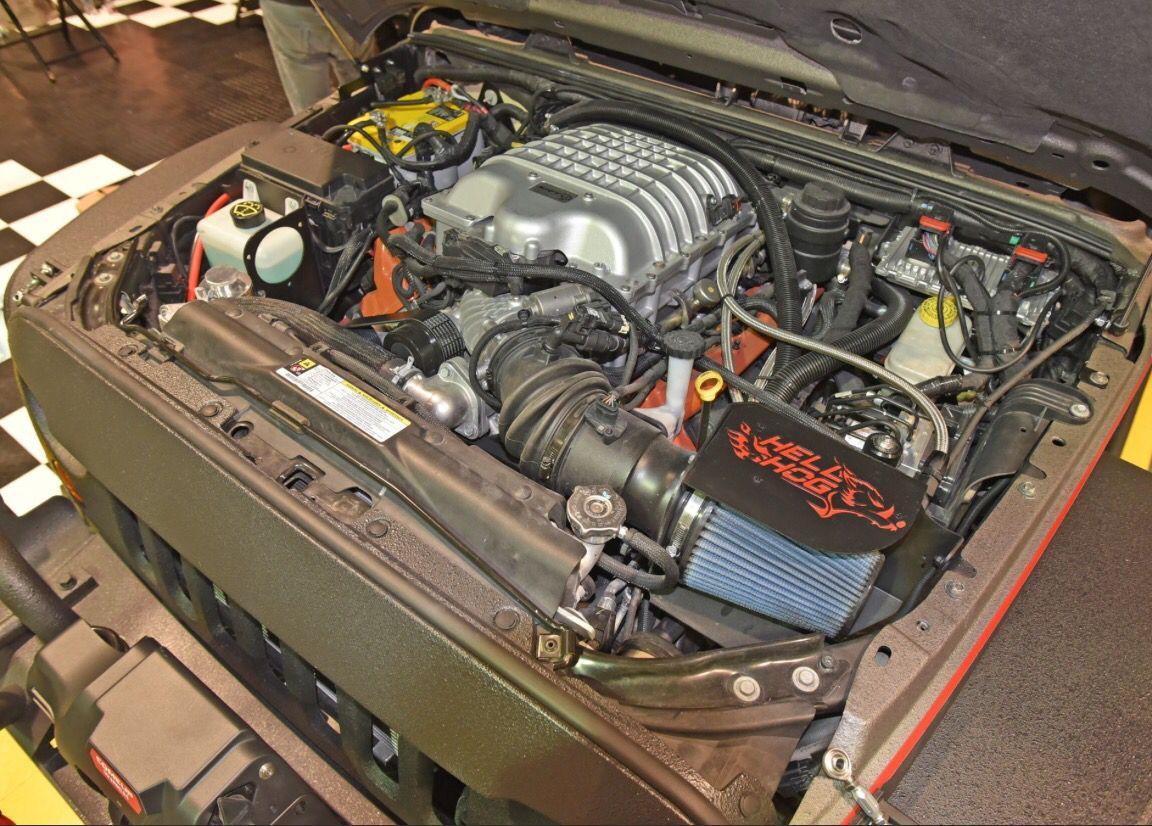 6x6 Jeep Wrangler Hellcat Jeep Jk