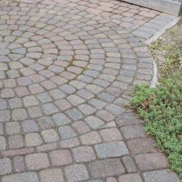 What To Spray On Brick Pavers To Clean Them Brick Patios Brick