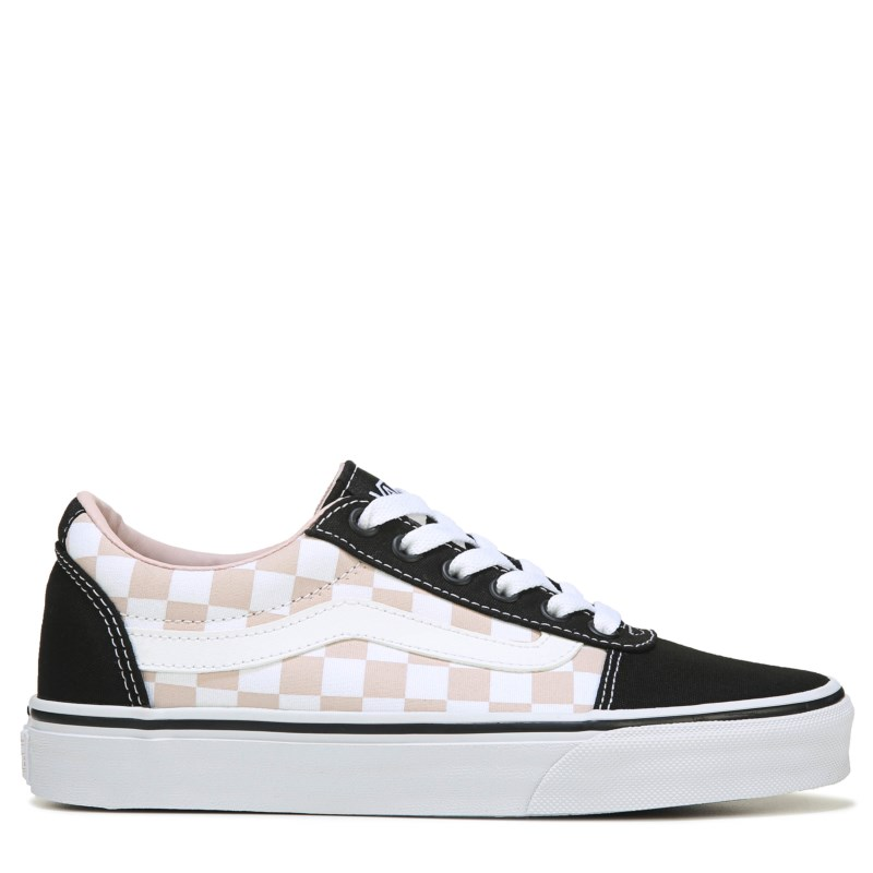 4c1f540dee42b6 Vans Women s Ward Low Top Sneakers (Checkerboard Black P)