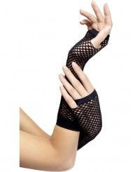 #Long Or Short Opera And Fingerless Gloves Fancy Dress Outfit Accessory