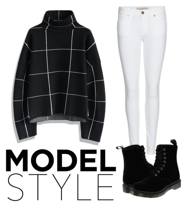 """""""Untitled #7"""" by celinesow on Polyvore featuring Chicwish, Burberry and Dr. Martens"""