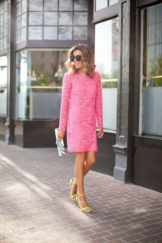 Pink Lace and Men's Blues #men'ssummeroutfit #men's #summer #outfit #pink #rosaspitzenkleider