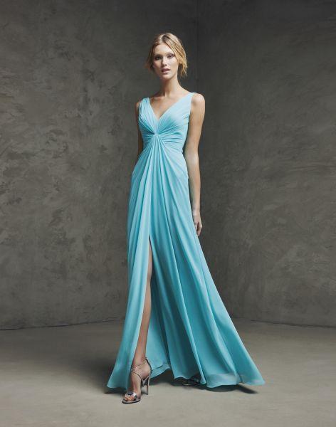 100 vestidos de festa azuis 2016 para todos os estilos! Color