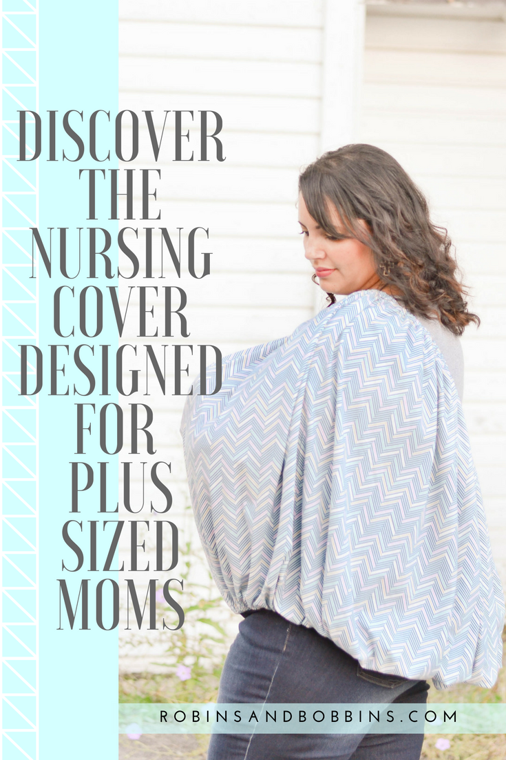 2634419a5dbfb Plus Size moms deserve a nursing cover made specifically for them. Check  out these one of a kind breastfeeding covers!