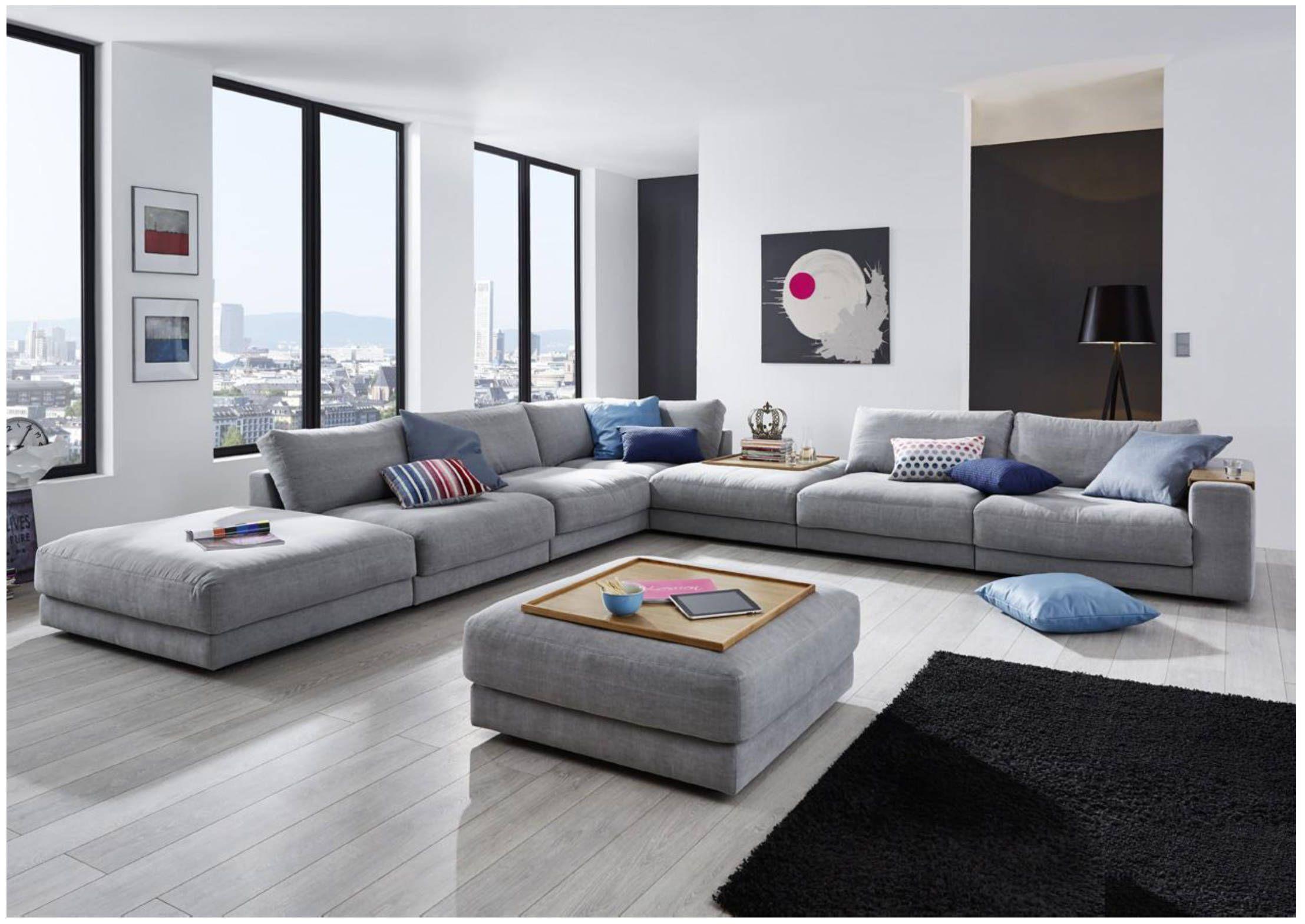 Canapé d angle moderne en U RELAS XL