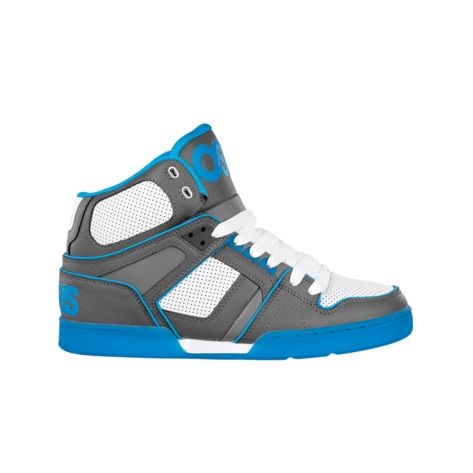 Shop for Mens Osiris NYC 83 Ultra Skate Shoe in Grey White Turquoise at  Journeys Shoes