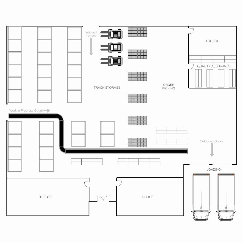 Warehouse Floor Plan Template Inspirational Warehouse Plan In 2020 Floor Plan Design Warehouse Floor Plan Design Template