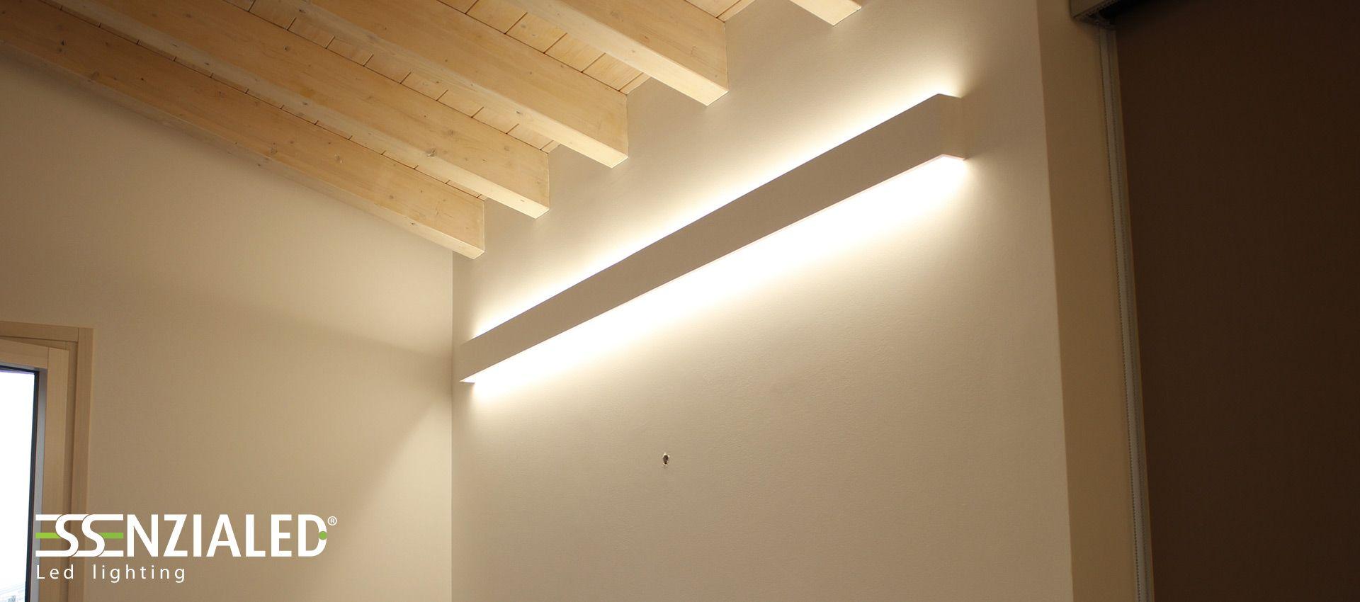 Risultati Immagini Per Illuminazione Travi Legno Soppalco