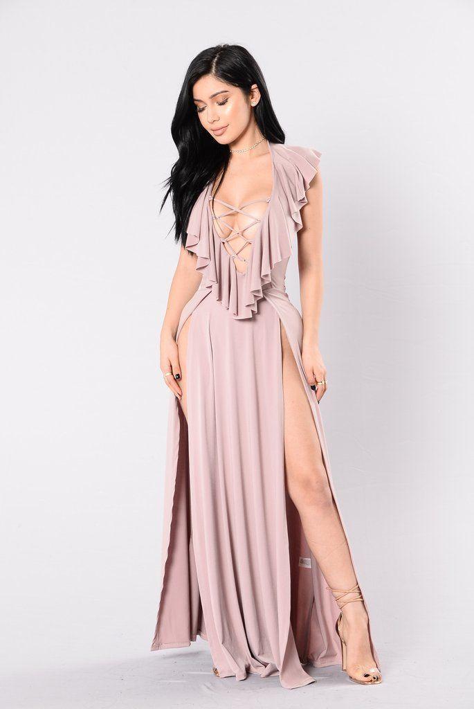 343585014e01b Full Time Showstopper - Mauve Casual Dresses, Sexy Dresses, Blush Dresses,  Nice Dresses