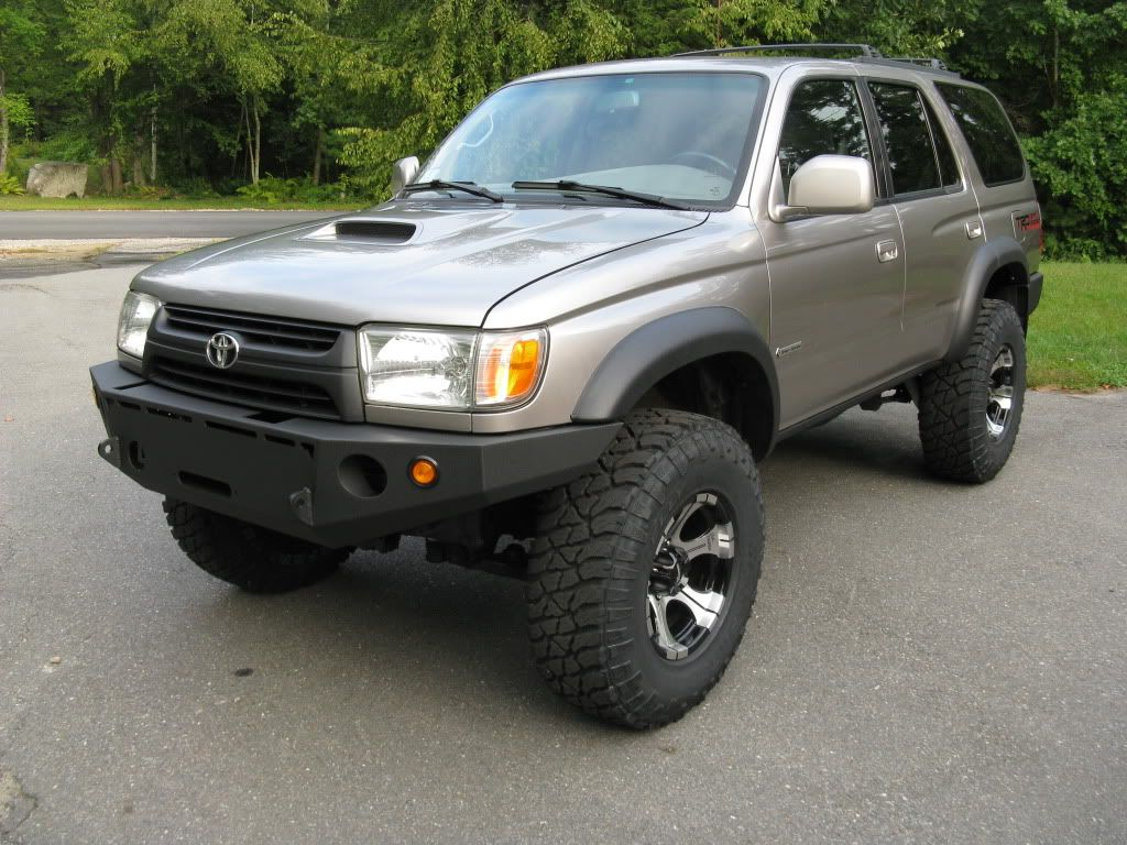 Painted Limited Fender Flares Pic Request Toyota 4runner Forum 2000 Abs Light Largest