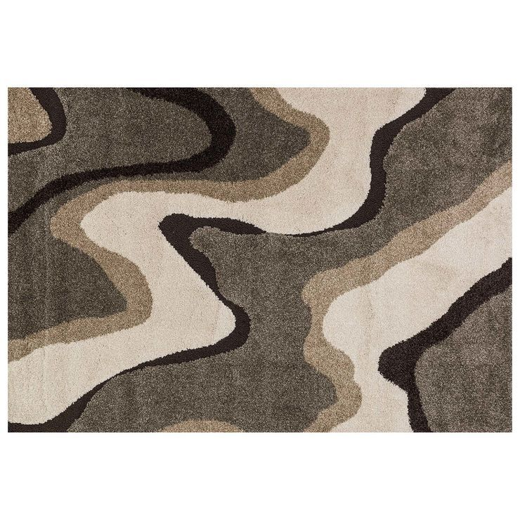 A280 Sydney Waves Multi Rug- 8x10 ft