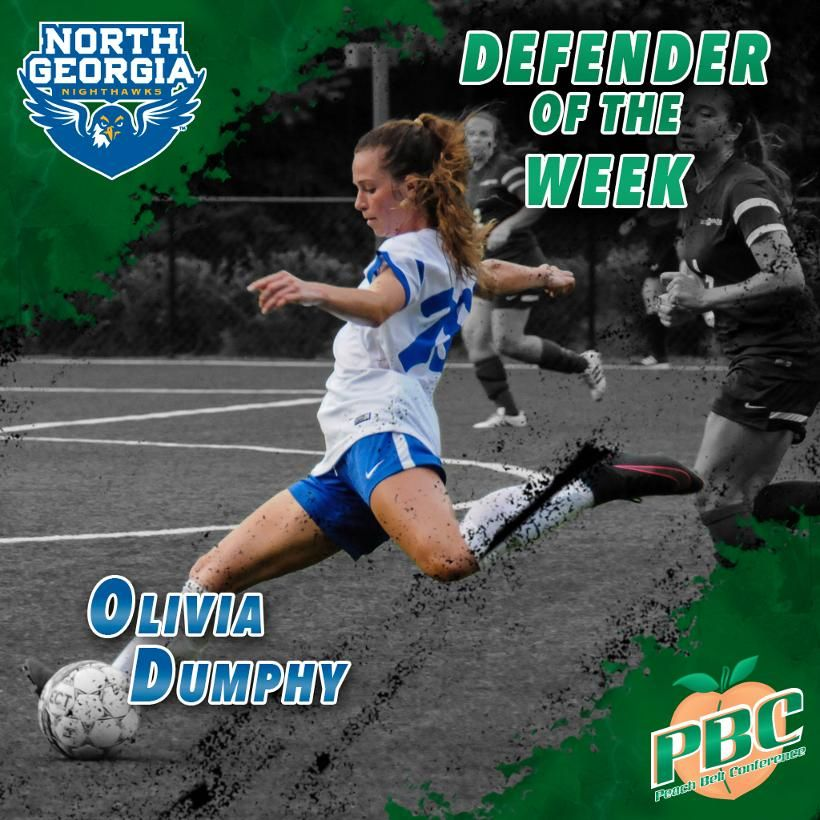 Women S Soccer Defender Of The Week Olivia Dumphy North Georgia