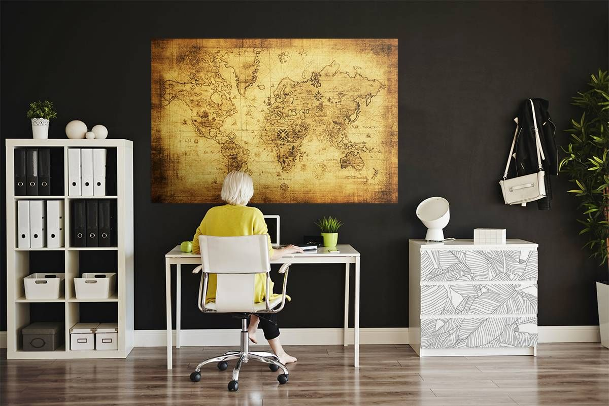 Pirates map • Contemporary - Office - Posters - Stickers - Maps and ...