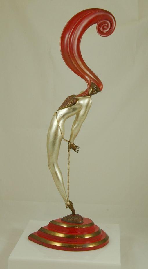 "Erte Bronze "" L'Amour"""