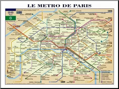Map Travel Maps And Major Tourist Attractions X Paris Pdfprintable