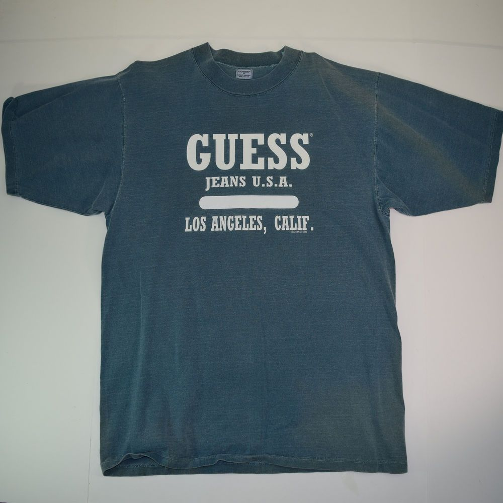 7c963fed4842 Guess Jeans T Shirt Sizing