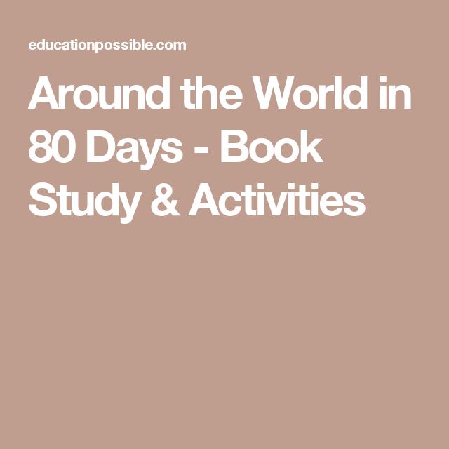 Around the World in 80 Days - Book Study & Activities