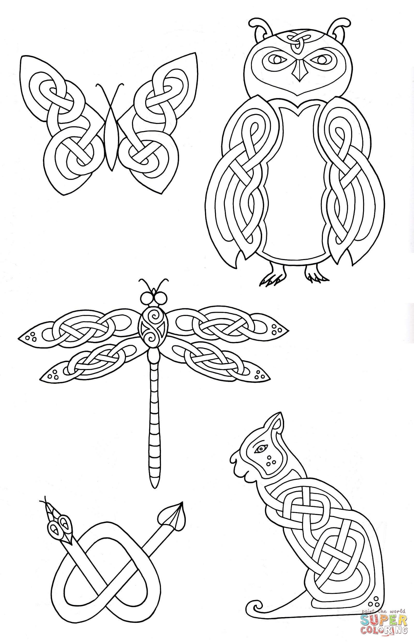 Celtic Animals Designs 2