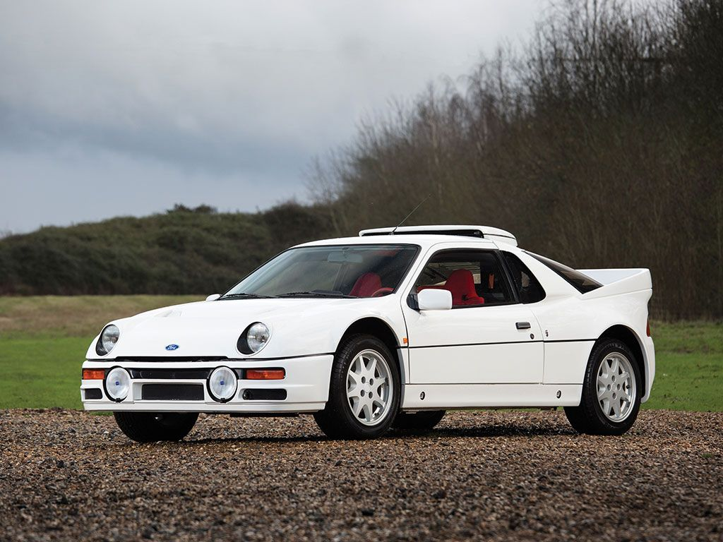 This Ford Rs200 Evolution Is Factory Fresh Fully For Sale Car