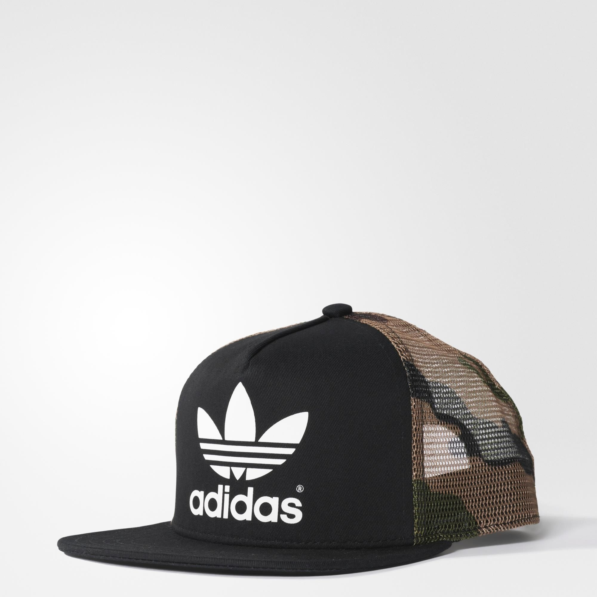 Gorra Originals Trucker Street - Black adidas  111211ff9a1