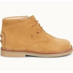Tod's - Desert Boots Junior aus Veloursleder, Beige, 23 - Junior Shoes Tod's