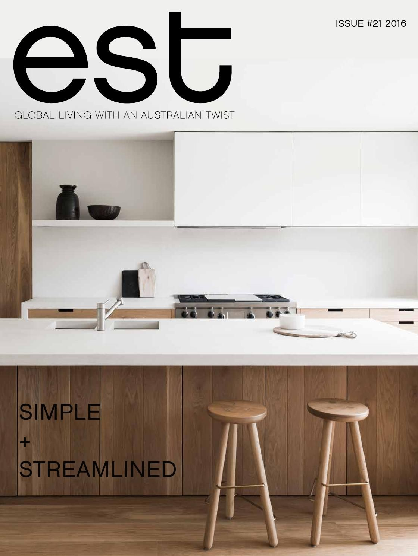 Est magazine issue st magazines and kitchens