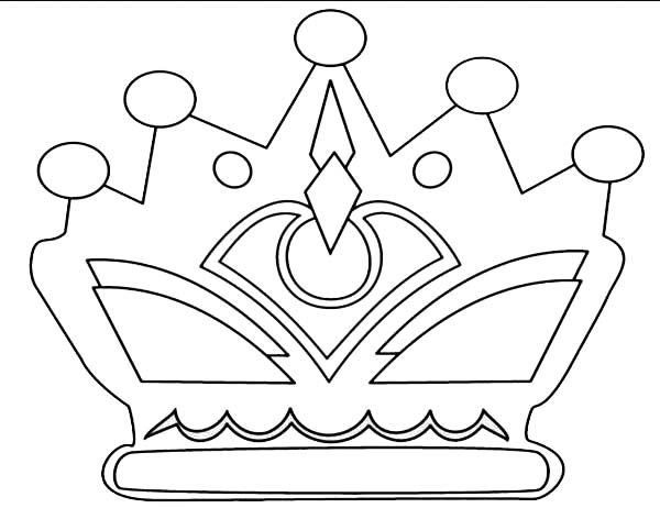 Princess Crown With Jewelry Coloring Page Netart Princess Coloring Pages Coloring Pages Puppy Coloring Pages