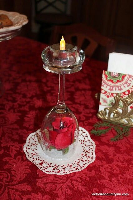 Table decoration great for formal dinners or valentine s