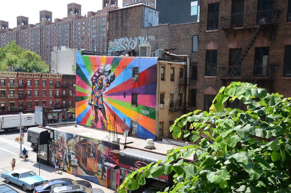 New York City Highline Street art, Art, Art forms