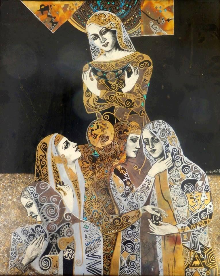 Mohamad Alwahibi Syrian Artist Art Middle Eastern Artists Eastern Art