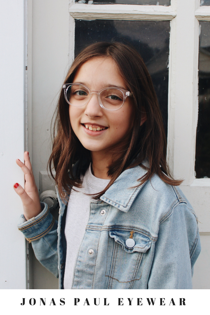 cff59fcc931 Limited Edition Kids Glasses    The Paige Clear