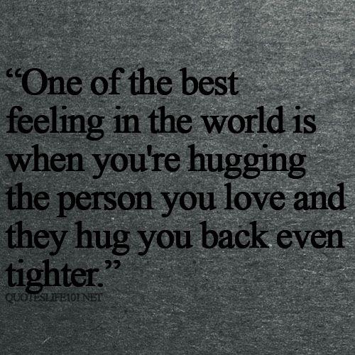 Attirant Hug You Back | Even Tighter. Quotes For LifeFun ...