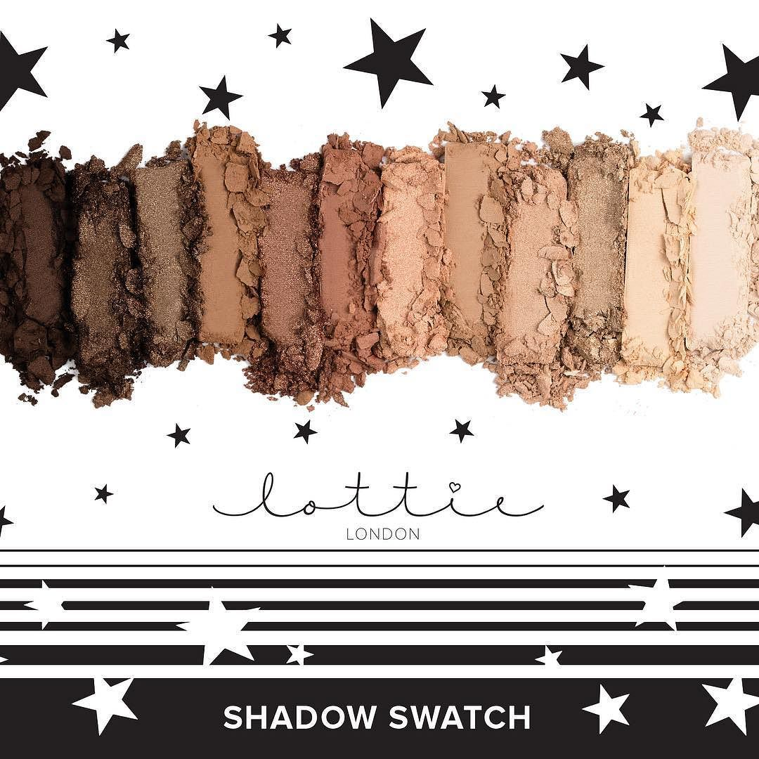 Style your eyes for every occasion   Our Shadow Swatch Palette comes in 12 #shimmer & #Matte shades allowing you to create a number of #selfieready looks. Shade: The Nudes.  Buy NOW - Link in Bio
