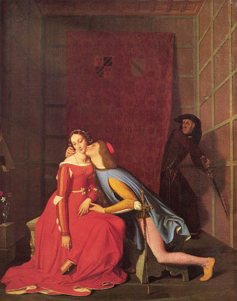 Jean Auguste Dominique Ingres Paolo And Francesca With Images