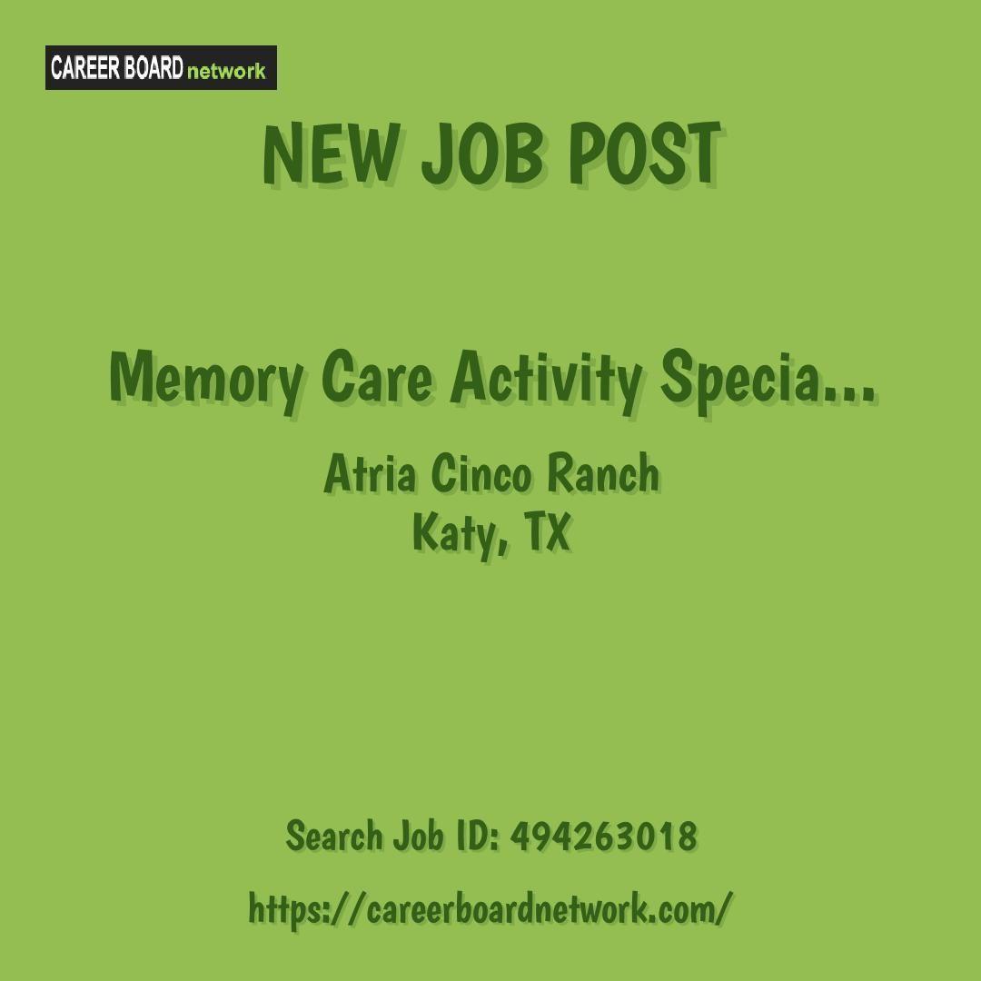 activity director jobs hiring near me