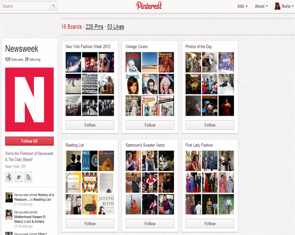 Newsweek y su interés en MAD MEN y sus estilismos