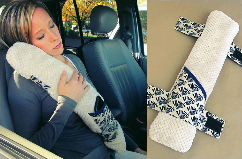 Seatbelt Pillow - Sew4Home