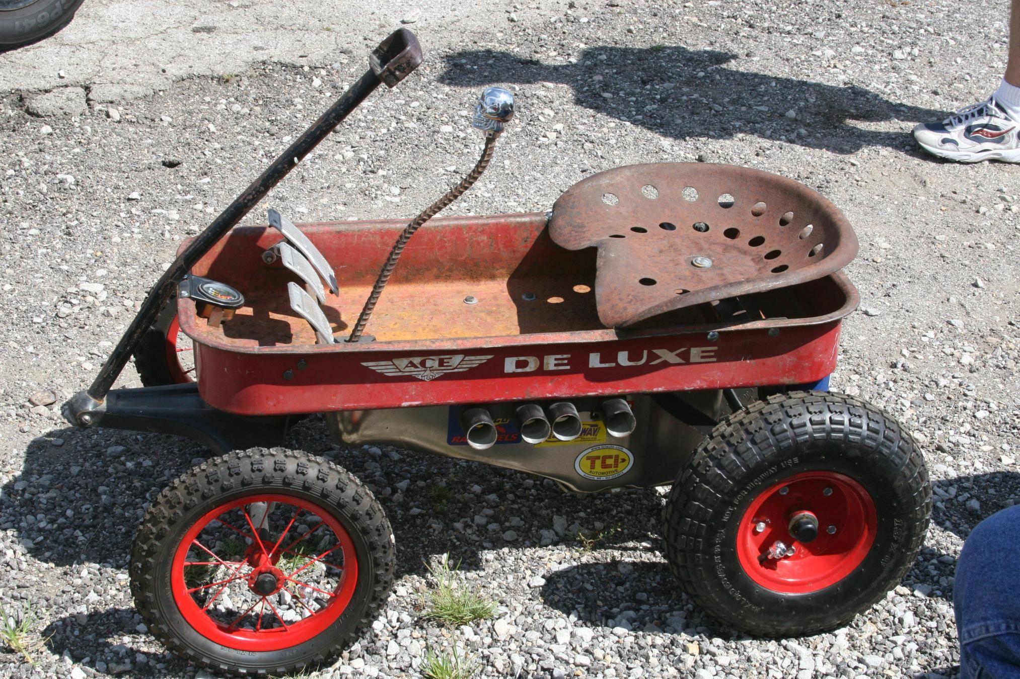 Rat Rod kids wagon. | Wild Builds | Pinterest | Rats, Radio flyer ...
