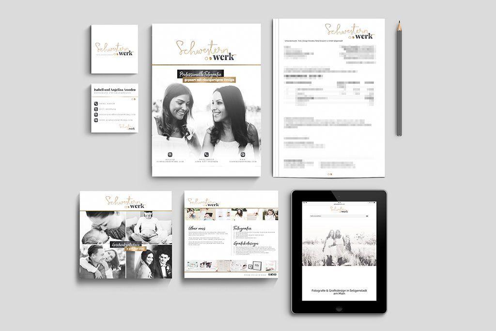 Briefkopf Visitenkartengestaltung Design