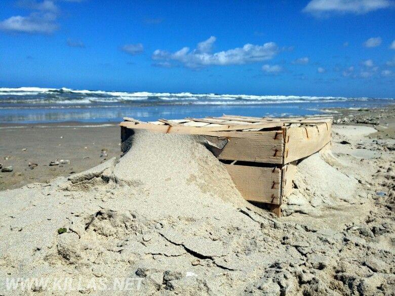 Texel Strand Strandgut Sandstrand Bluesky Beach Kiste Meer Texelmomentje Texelpics Niederlande Holland Nederland Nordholland Netherlands