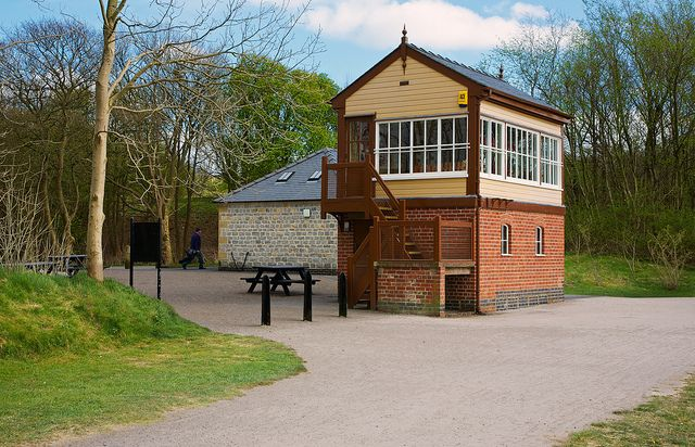 Old Signal Box Hartington Station