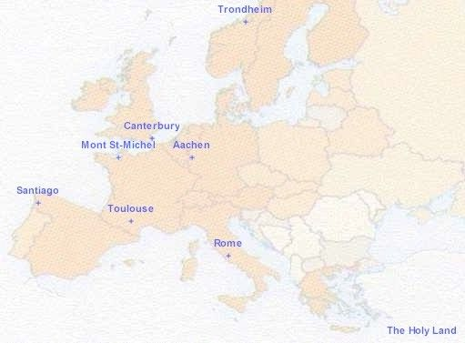 Medieval Pilgrimage Project - European Virtual School History Department
