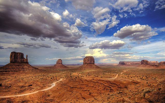 Monument Valley, Utah/Arizona, EEUU by Tony Letterman, via Flickr