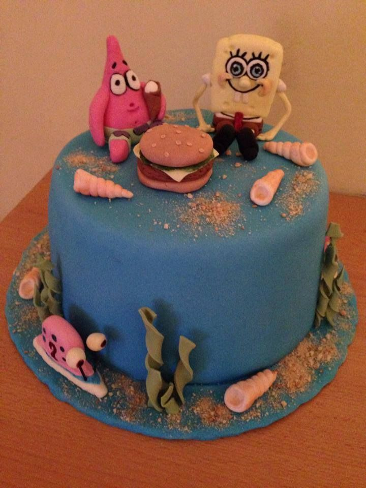 Cake SpongeBob
