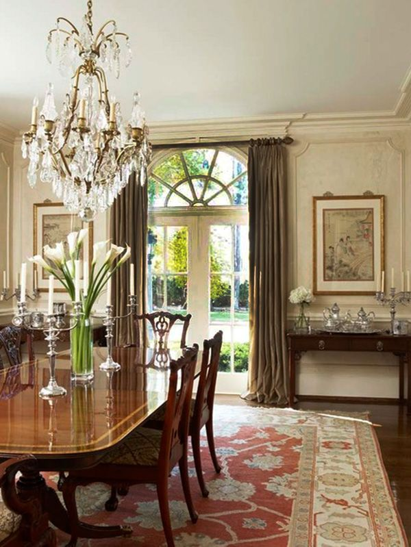 Classic And Chic Dining Room Designs Dining Room Decor