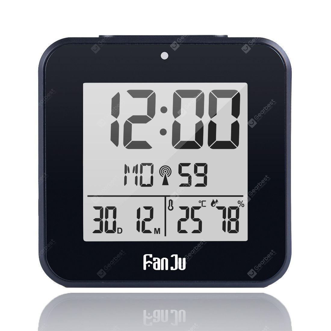 Fanju Fj3533 Small Digital Alarm Clock With Dual Alarm Back Light