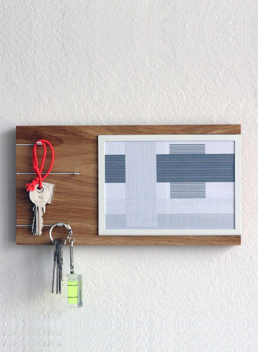 Toshi Nova Schlüsselbrett Design mit Bilderrahmen | Exclusive gift ...