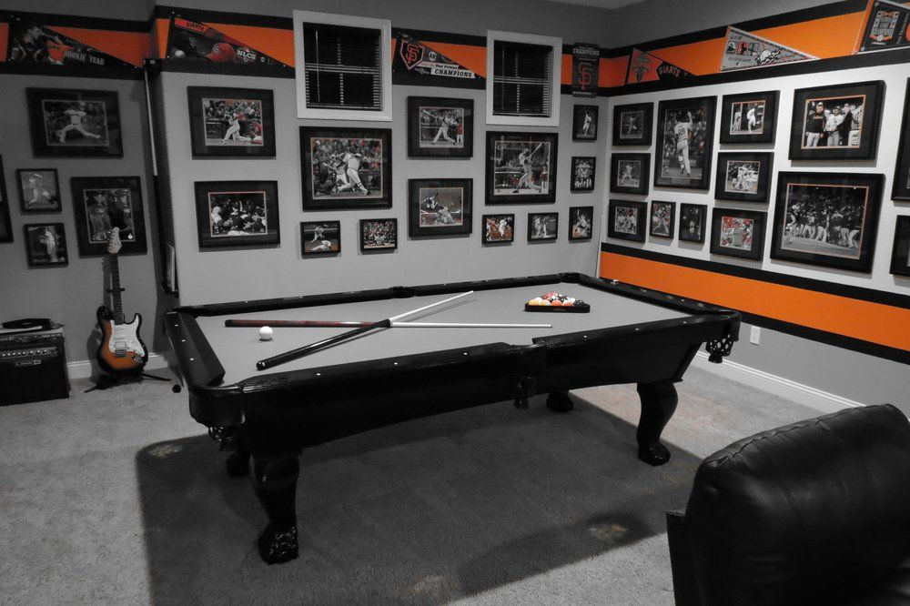 Admiral Pool Tables Inc Black Duke Ball In Claw Legs Steel Grey Felt Hayward Ca United States Black Pool Table Pool Table Pool Table Games