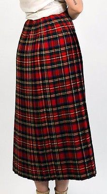 ac1e1beb2 Richie Skirt by EMILIA WICKSTEAD for Preorder on Moda Operandi    Accessories and Style in 2019   Flannel skirt, Kate middleton skirt,  Pleated midi skirt